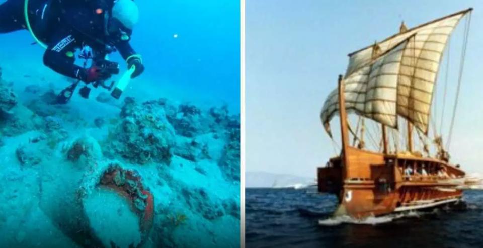 Пронајдени остатоци од 11 потонати бродови на Александар Велики