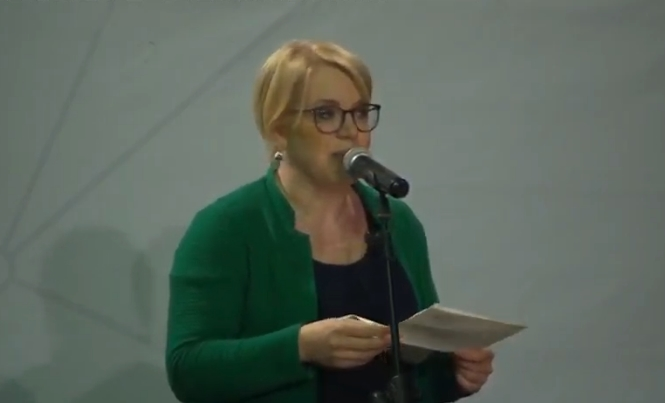 Бетина Рауш од Австриската народна партија гостин на митингот на ВМРО-ДПМНЕ: Гласајте за Силјановска, таа е за правда во Македонија