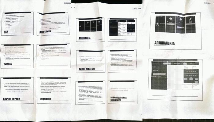 ФОТО: Ова е упатството за апликацијата со која СДСМ прибираше лични податоци на граѓаните