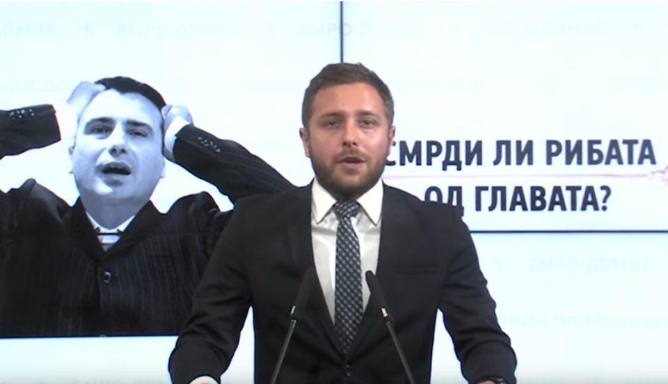 """Арсовски: Заев мора да сфати дека """"рибата смрди од главата"""" и ако од некој треба да почне метлата и чистката, тоа е тој самиот"""