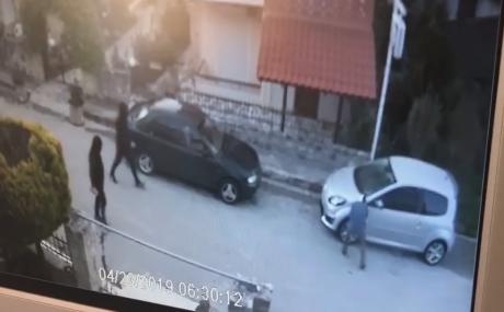 ВИДЕО: Вака се уништуваа македонските возила во Грција