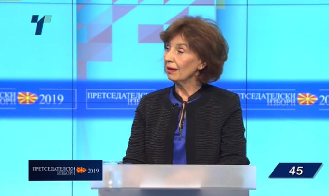 Силјановска Давкова: Заев со своето срамно интервју постоењето на СДСМ го стави под знак прашалник