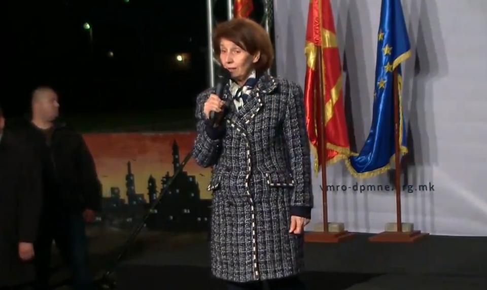 Силјановска Давкова: Во Северна Грција живеат Македонци и не треба да се срамиме од нив
