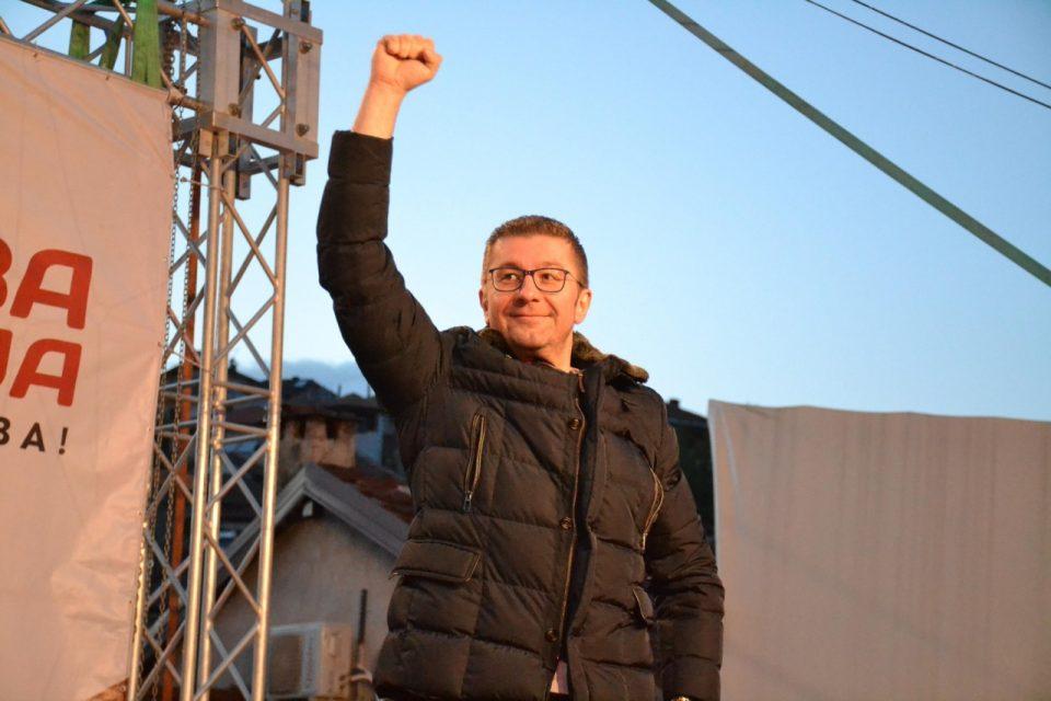 Мицкоски: Силјановска со  својот личен, домашен,  но и меѓународен интегритет има јасен план како да се врати правото и правната држава