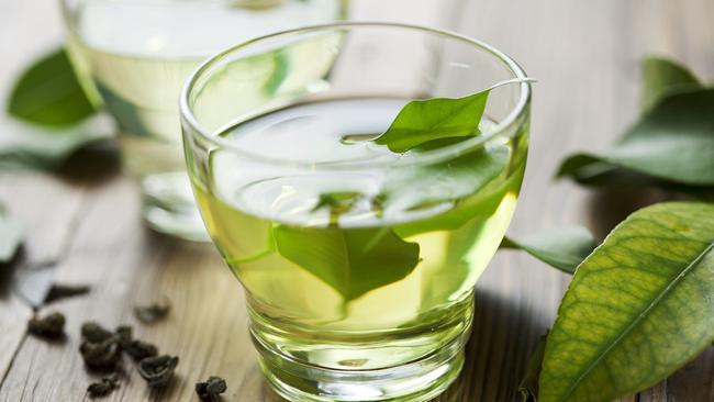 Зелен чај за топење килограми