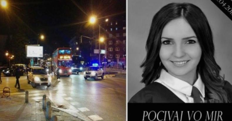 Намалена казната за возачот кој ја прегази студентката Фросина кај Универзална