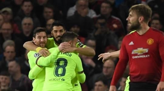 """Барселона го освои """"Олд Трафорд"""", Ајакс и Јувентус најавија драма во Торино"""