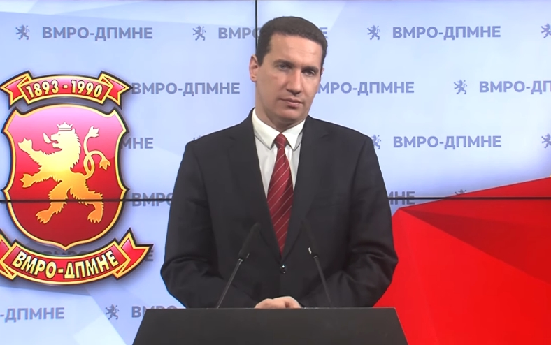 Ѓорчев: Кадровските списоци на СДСМ донесоа граѓаните на Македонија, народот преку даноци и економијата да плаќаат 20.000 нови партиски војници