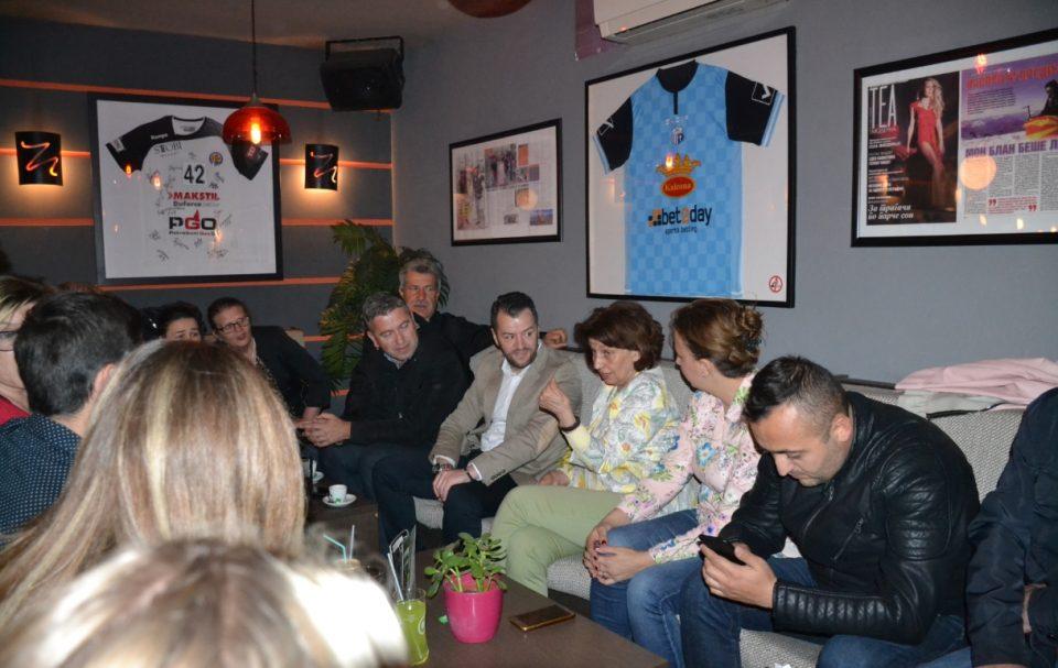 Силјановска Давкова во Гази Баба: Да ги поразиме сите ненародни и штетни политики кои ги спроведува владата на СДСМ и Заев