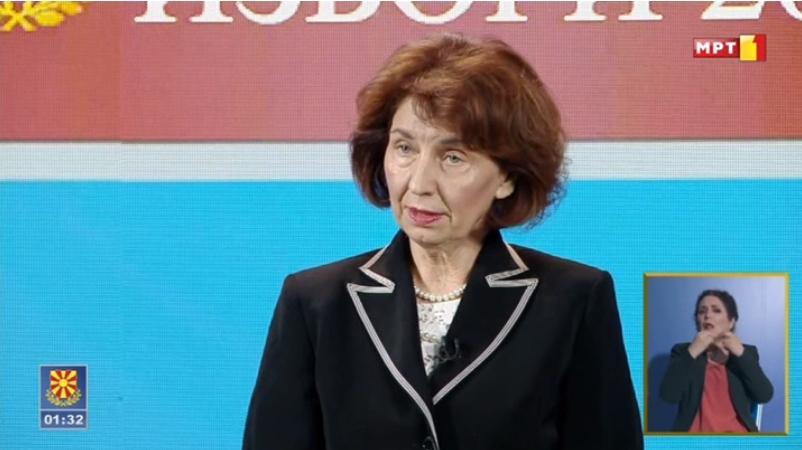 Силјановска Давкова до Пендаровски: За вас е важно парламентарното мнозинство, ама за мене е важна правната држава