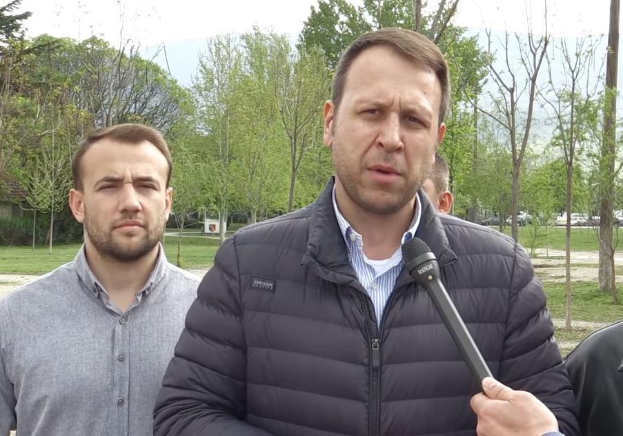 Јанушев: Наумоски ги излажа жителите на Ѓорче Петров- наместо зеленило, ќе никнат станбени згради среде парк