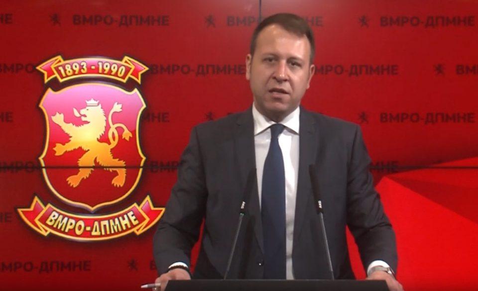 Јанушев: Заев и Пендаровски знаат дека дојде времето да ја платат цената за криминалот, корупцијата и распродажбата на државните и национални интереси