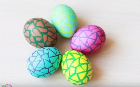 Мозаик: Креативна техника за украсување на велигденските јајца