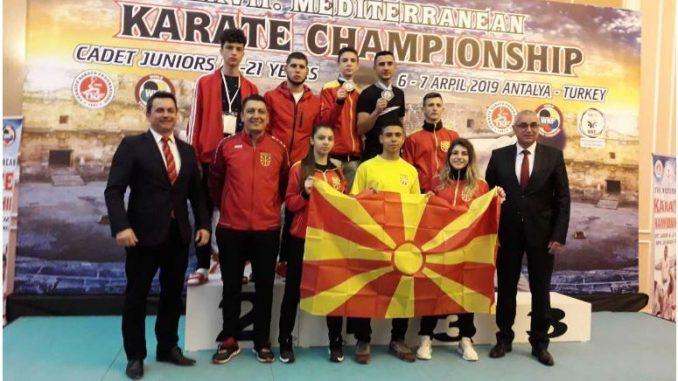 Златен и бронзен медал за македонските каратисти на Медитеранското првенство во Анталија