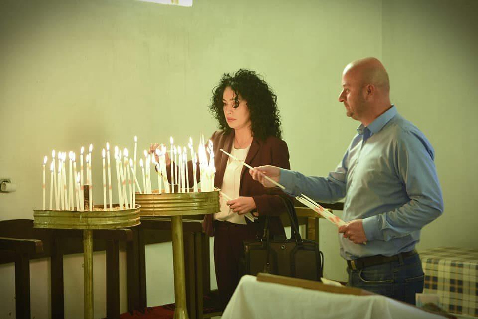 Лашкоска во црквата Воскресение Христово во Новаци