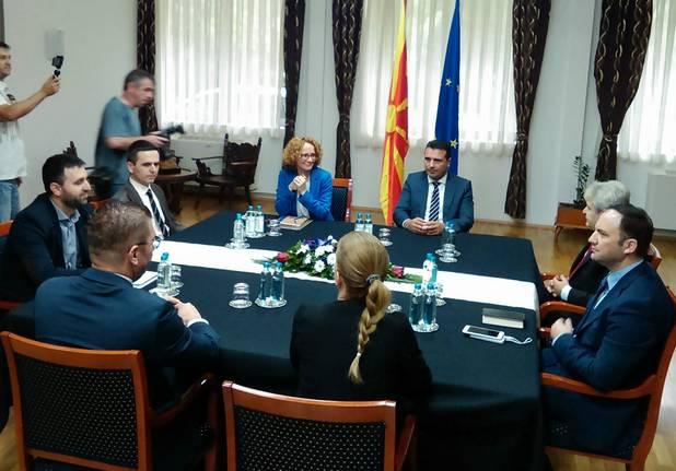 Мицкоски: Одбивањето на лидерска средба од Заев е незрело, треба да се договориме за најважните прашања