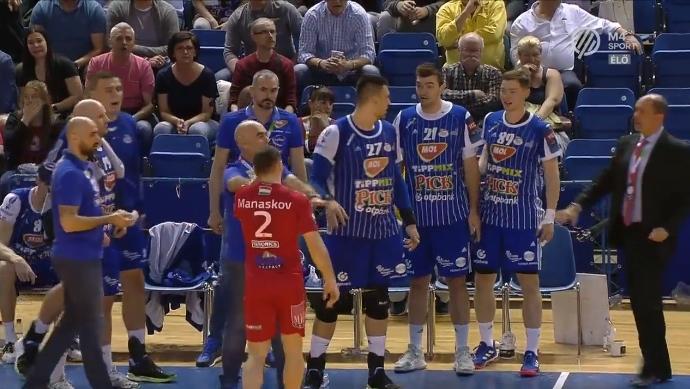 ВИДЕО: Блажевиќ му ја расцепи главата на нашиот Манасков!