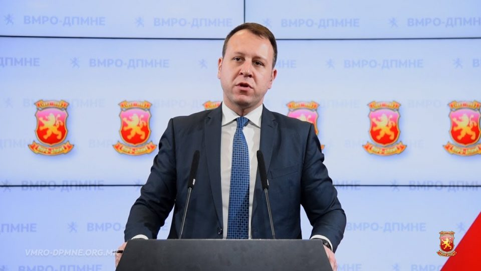 Јанушев: Нашиот код е ВМРО, а ВМРО е најсветиот чувар на Македонија