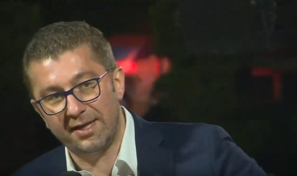 Мицкоски: Овие избори се одлука за крај на лагата, за крај на неисполнетите ветувања