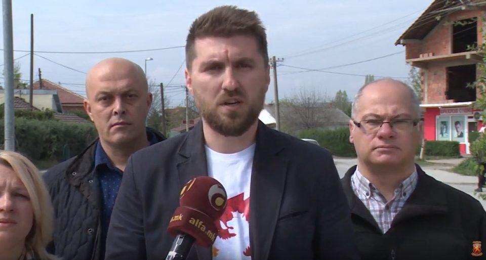 """""""Гласот за Стево Пендаровски е глас за поддршка на Заев, Марин и Шилегов"""""""