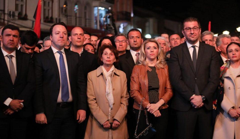 Мицкоски: Силјановска Давкова е лицето на вистината и правдата, гласот за Пендаровски е глас за Заев