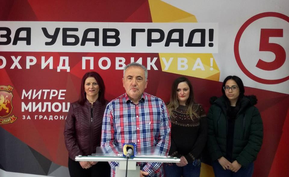Митре Милошевски со три стратешки програми ќе ја задржува младината во Општината Охрид