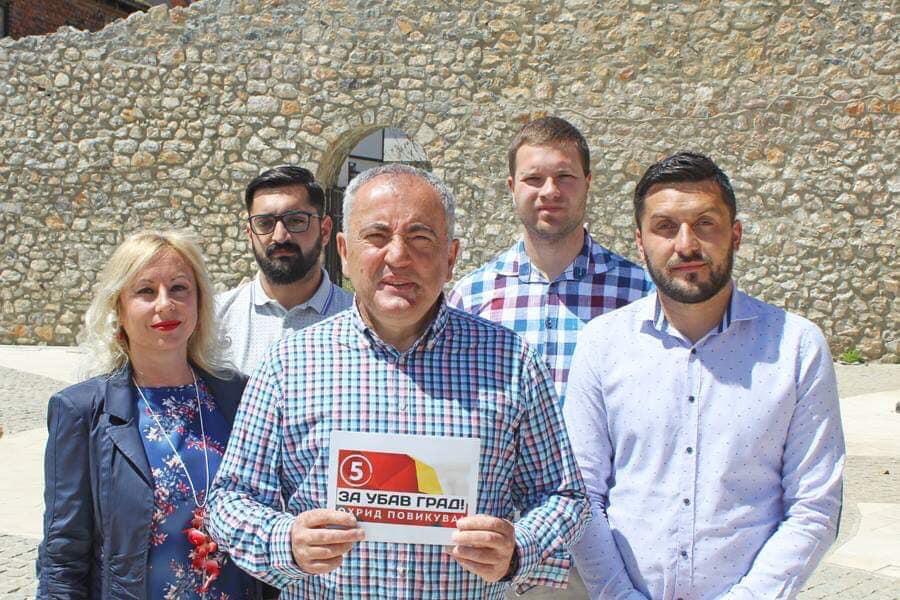 Мицкоски: Верувам дека охриѓани ќе го изберат Митре за градоначалник, ќе работиме заедно за убав Охрид