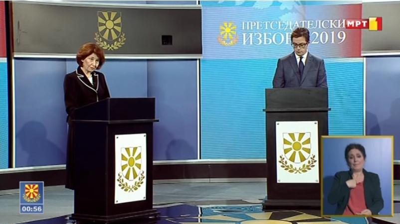 АНКЕТА: Силјановска убедливо го доби ТВ дуелот на МРТ со Пендаровски