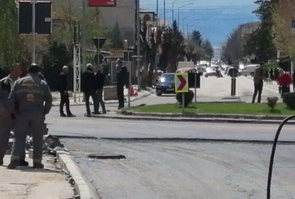 Охрид 24: Сообраќајот во Охрид денеска во застој, се асфалтираше најголемиот проект на СДСМ и Георгиески