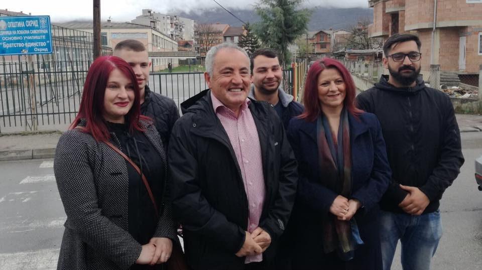 Милошевски: Охрид и охриѓани заслужуваат нови реформи и проекти во образованието