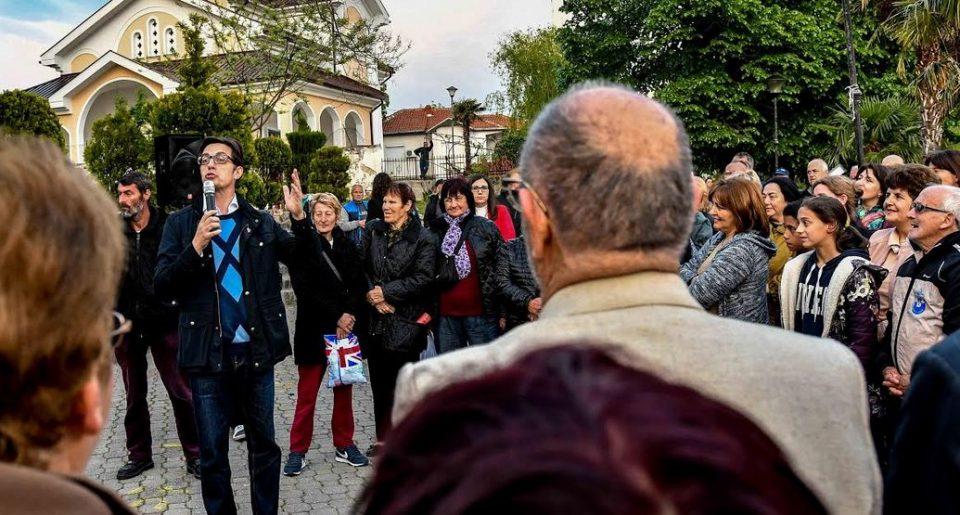 Стево Пендаровски на средби со жителите на Дојран и Богданци (ФОТО)