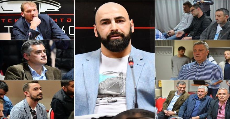 ФОТО: Кошаркарска Македонија застана зад Перо Антиќ