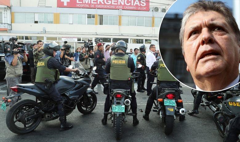 Се застрела поранешниот претседател Гарсија