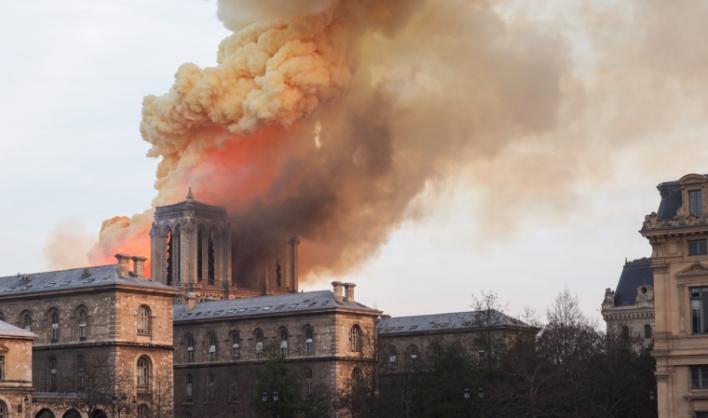 Една добра вест во огромната трагедија: Сите уметнички дела се спасени, Круната од трње, светите реликвии