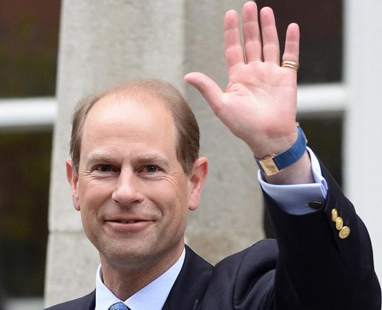 Принцот Едвард доаѓа во Македонија