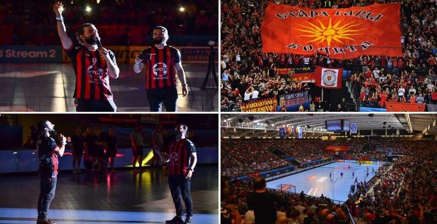 """ВИДЕО: """"Некој за парите клети, ние за боите свети"""", скопски Вардар со најмоќна поддршка до сега"""