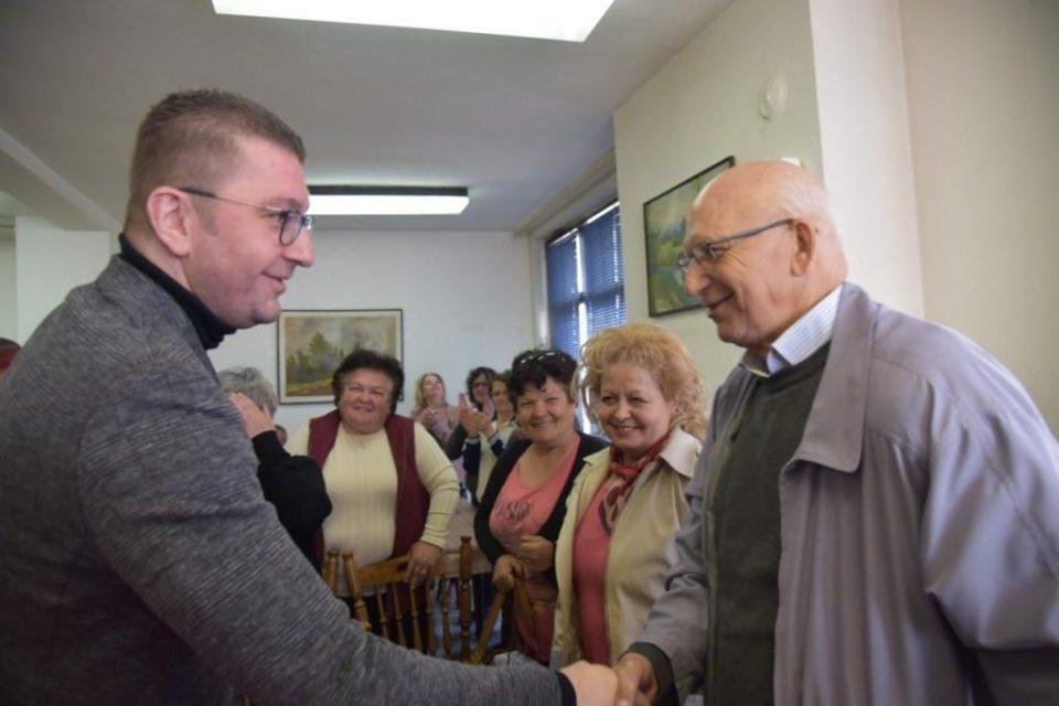 Мицкоски: МТСП и Царовска немаат слух за решавање на проблемите на лицата со инвалидитет и посебни потреби