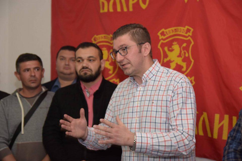 Мицкоски: Народот е разочаран од владеењето на Заев и СДСМ