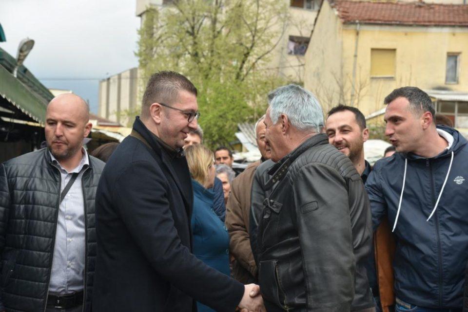 Мицкоски: Сигурен сум во победата на изборите, Заев да остане на зборот и веднаш потоа да распише предвремени парламентарни избори