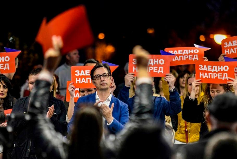 Пендаровски: Ветувам победа во првото полувреме