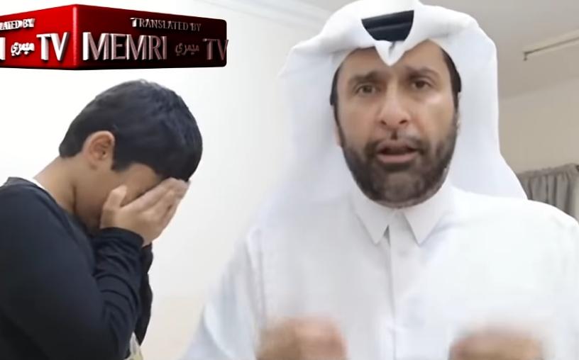 Запрепастувачка снимка од муслимански свештеник: Тој дава совети како да се тепаат сопругите