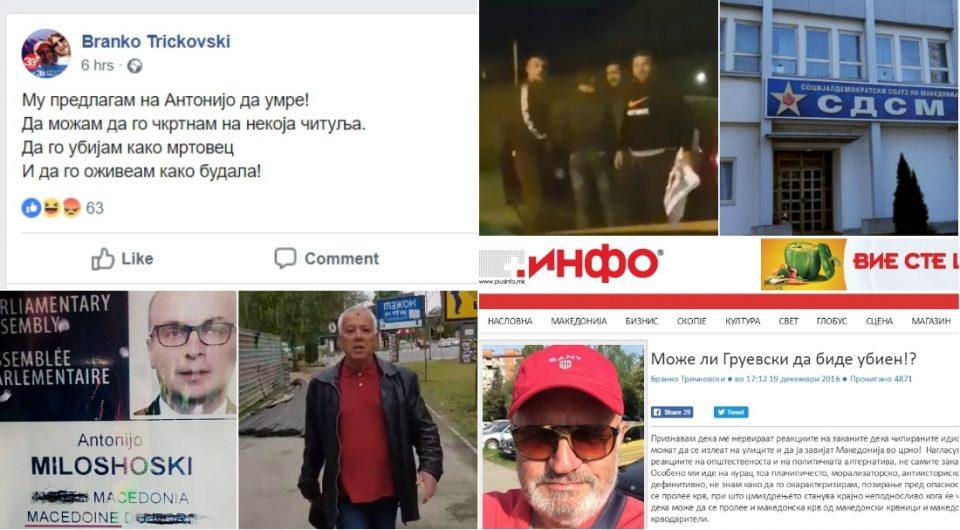 Паниката во СДСМ се зголемува, зачестуваат заканите и нападите