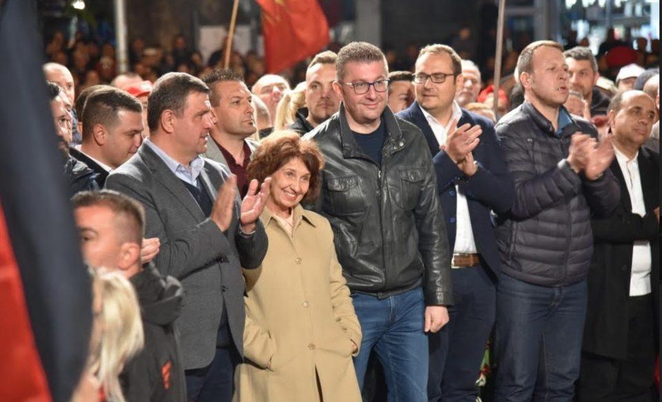 Силјановска Давкова: Нашата победа ќе значи пораз на нивните немакедонски, ненационални, антимакедонски и антинационални политики