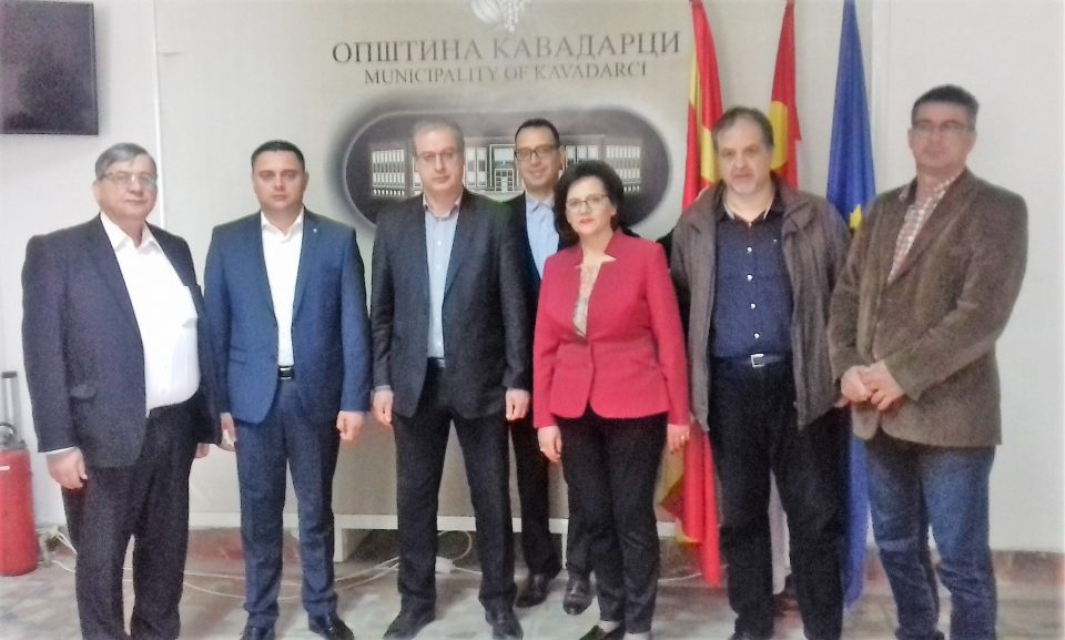 Јанчев на средба со грчки парламентарец за граничниот премин Пуљевац