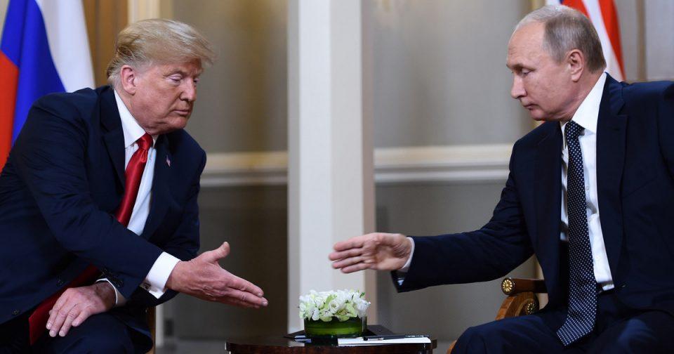 Трамп и Путин на средба во Осака