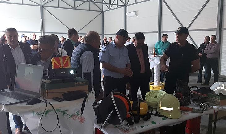Во Кавадарци одбележан денот на пожарникарите – 20 мај