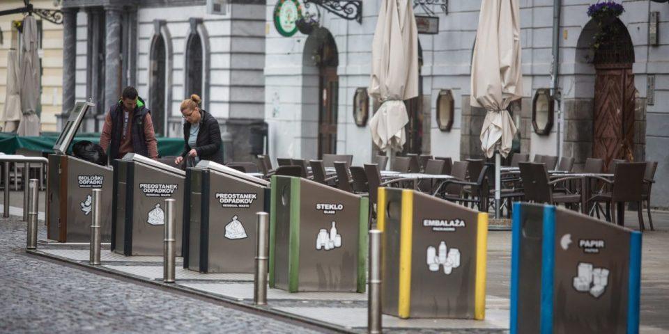 Љубљана лидер во рециклирање отпад, Скопје се дави во ѓубре