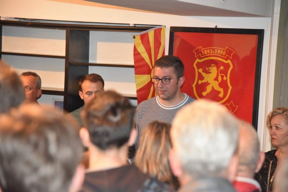 Мицкоски: Со овие луѓе на власт нема ниту ЕУ ниту пак европски се однесуваат