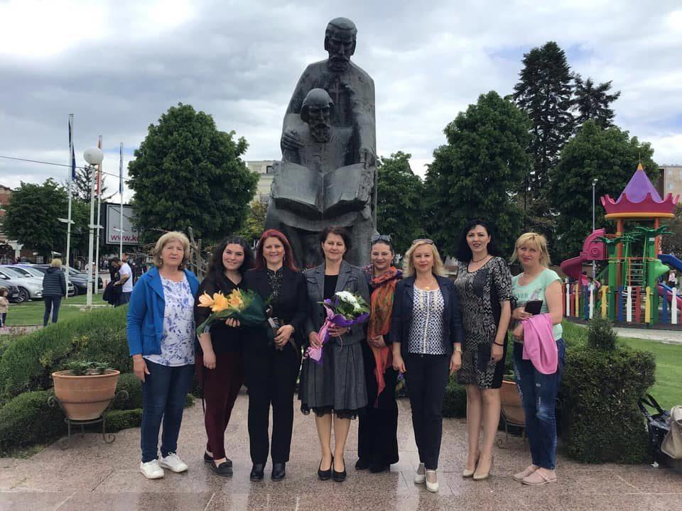 Унијата на жени на ВМРО-ДПМНЕ со повеќе манифестации низ земјава го одбележаа празникот Св. Кирил и Методиј (ФОТО)