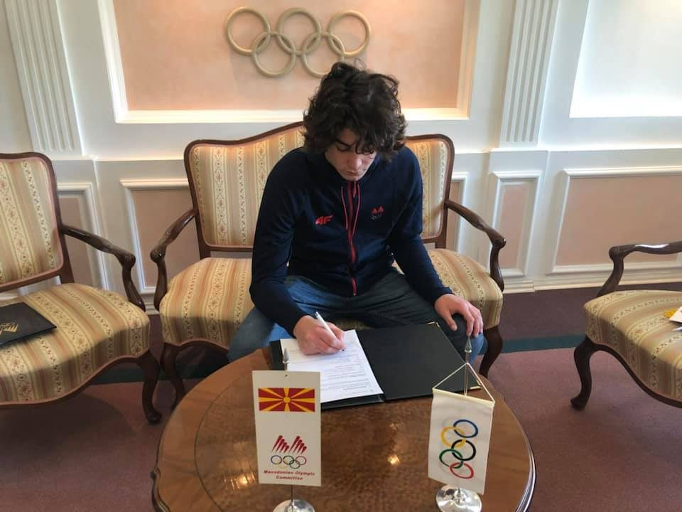 Европскиот шампион Филип Додевски е нов стипендист на МОК
